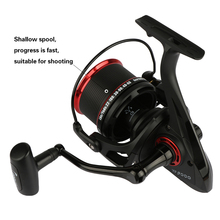 YF 9000 Surf Casting Reels Spinning Reel Long Shot Fishing Reel With A Spare Metal Spool Max Drag 18KG