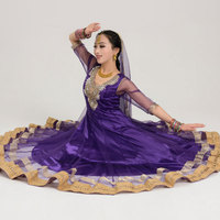 India Anna Indian dance dancing performance Sari veil robe dress top skirt pants trousers costumes costume clothes wear clothing
