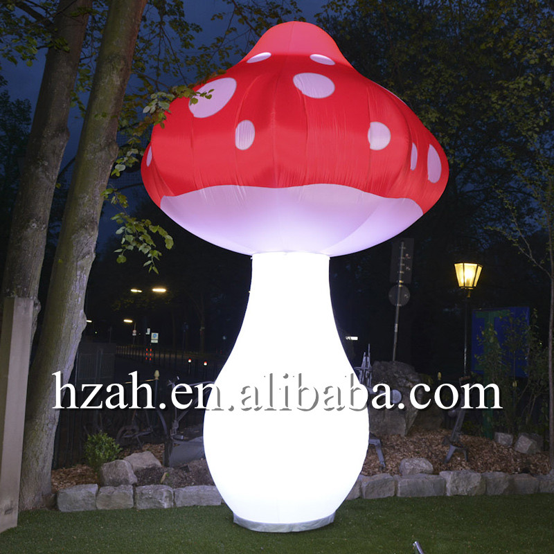 Anhang Factory Inflatable Light Mushroom Model For Party Decoration