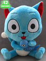 1piece 30CM Japanese Anime Cartoon Fairy Tail Happy Plush Toy Plush Doll Figure Toy