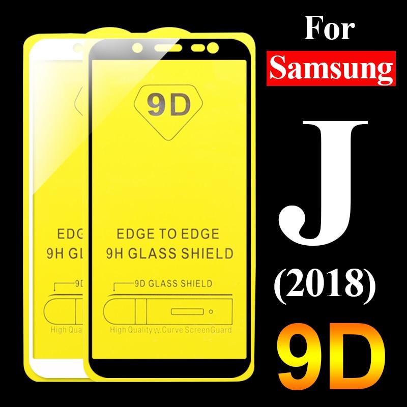2pcs 9d Glass On The For Samsung J2 J5 J7 Prime Galaxy J4 J6 J8 J2Pro 2018 Screenprotector J 2 4 5 6 7 8 Glas Tremp Full Cover