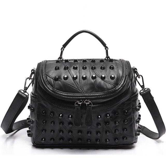 Женские дизайнерские сумки-мессенджеры из натуральной кожи