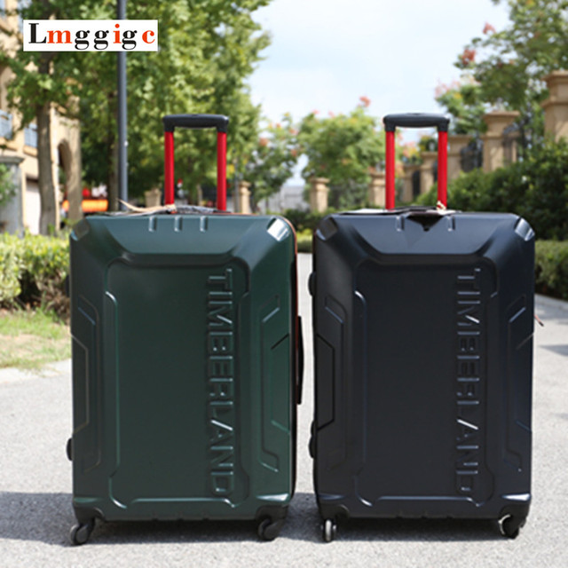 """20 """"24"""" дюймовый Багажа, высокое качество Чемодан, ABS + PC Ручной Клади, универсальные диски перевозчик, троллейбус случае Поездки, легкий перетащить коробки"""
