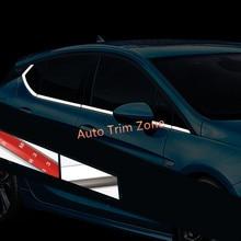 8 ШТ. Стали Внешняя Сторона Двери Окна Ниже Молдинги Крышки Накладка Для Opel Astra 2015-2017 Хэтчбек