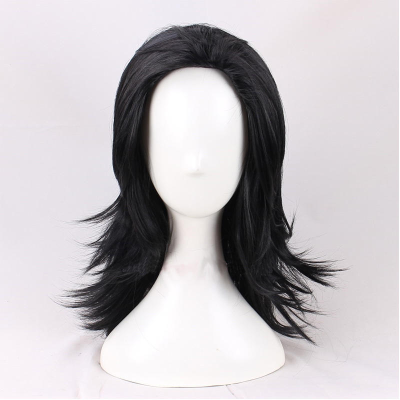 Image 5 - Cosroad The Avengers Thor Cosplay Wig Loki Long black Hair Costumes Adult Halloween Party Plays Wigs-in Movie & TV costumes from Novelty & Special Use