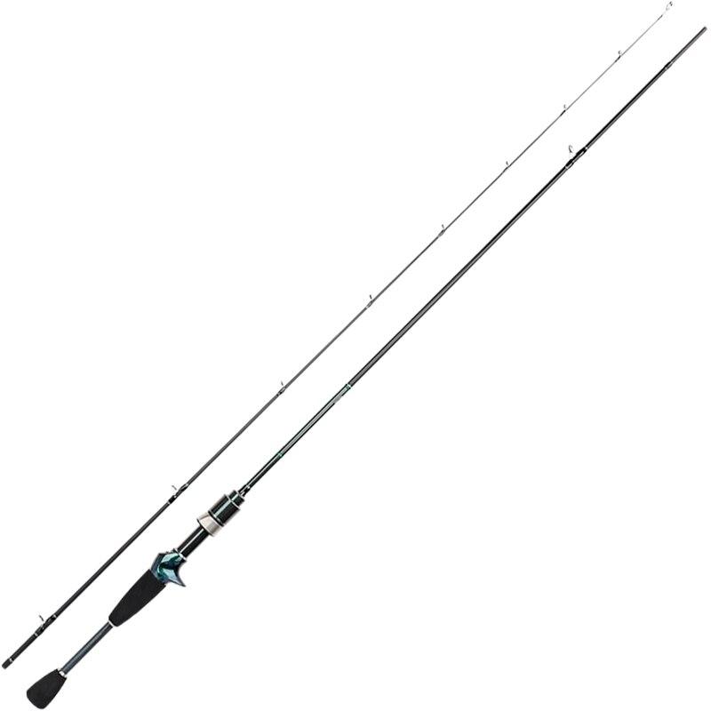 Tsurinoya Lighweight canne à pêche 1.89 UL D'action Super Doux Coulée canne à pêche Corégone Tige Pêche en Eau Douce Dexerity C632UL