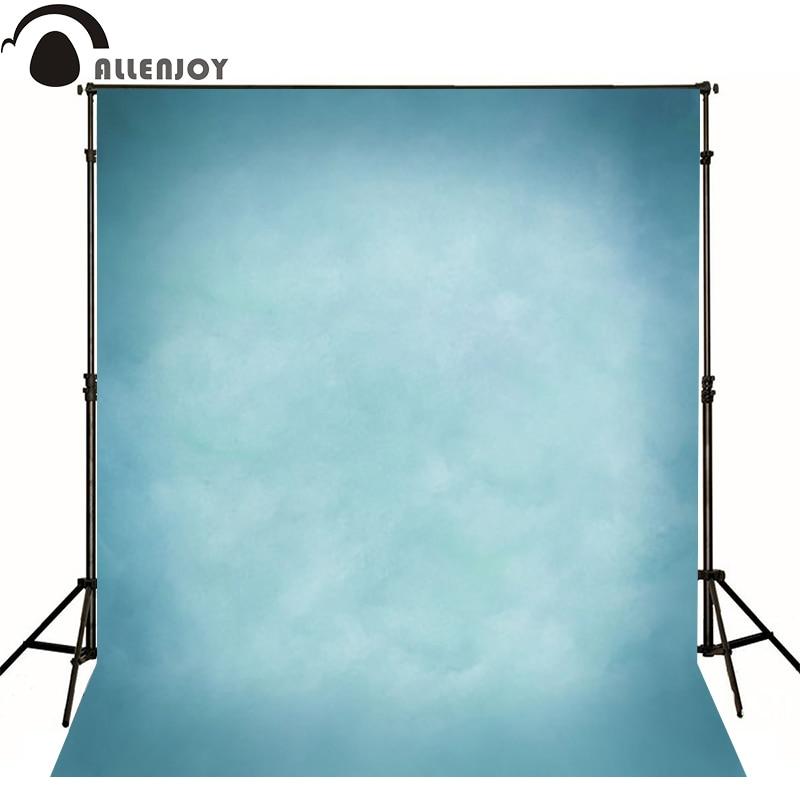 Allenjoy Thin Vinyl cloth photography Backdrop blue Children Wedding Baby Background Photo Studio Decor Backgrounds MH-074