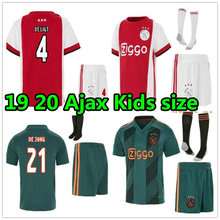 38ae16b8 2019 2020 Ajax Jersey KIDS Soccer shirt champions league 19 20 TADIC DE  JONG DE LIGT