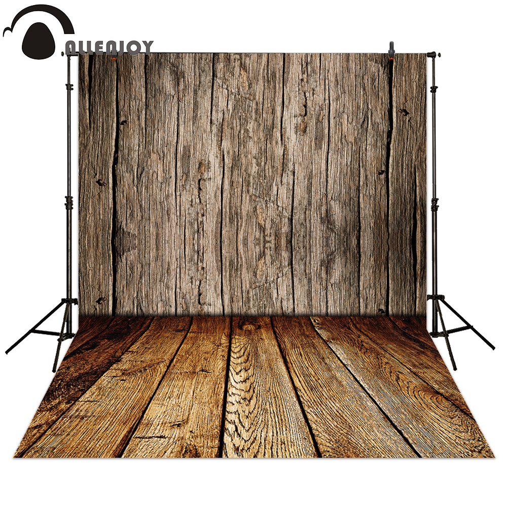 Allenjoy фоны для фотосъемки коричневый деревянный стиль фон для детской фотосъемки полиэстер материал в наличии