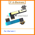 10 unids/lote usb enchufe cargador de reemplazo de la tarjeta para apple ipad mini 1 puerto de carga conector dock flex cable envío gratis