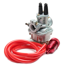 Motorcycle Carburetor Carb with Oil filter with Gasoline tube Fit for YAMAHA PW PY V 80 PW80 PY80 V80 ATV Dirt Bike Motorcross flypig 7pcs set durable engine gasket top end rebuild kit for yamaha pw 80 pw80 py80 peewee moto bike atv quad motorcycle parts