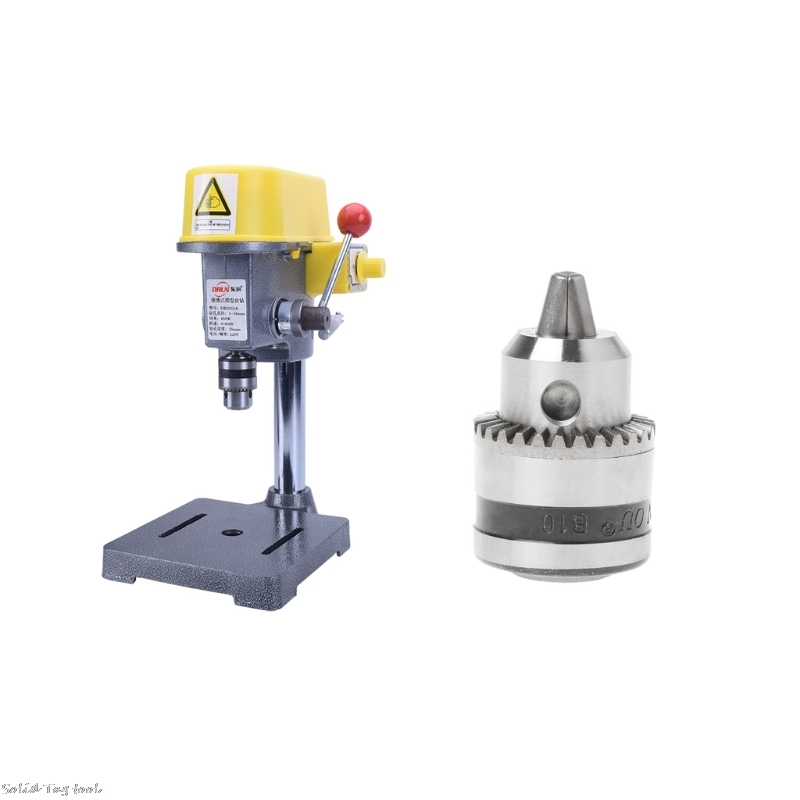 "Electric Drill Chuck 0.6-6mm Thread 3//8-24UNF 1//4/""Hex Shank Power Tools NIGH"