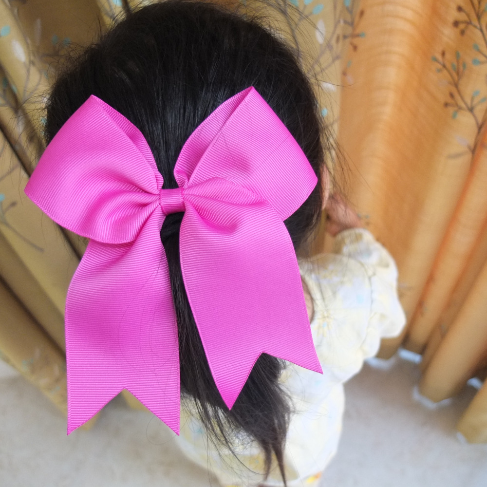 2 PCS Cheer Bow Large hair bow Ponytail Hair bow Ribbons