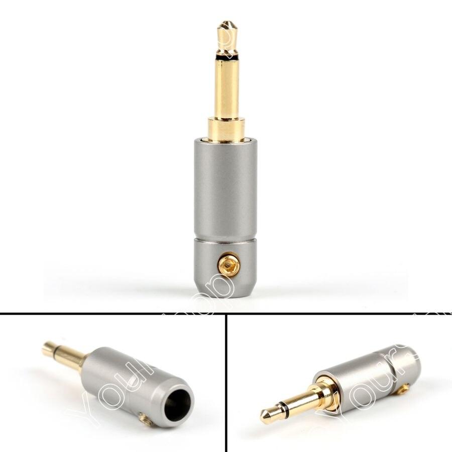 Areyourshop Sale 10Pcs 3.5mm Mono Male Repair Earphones Jack Plug Adapter Audio Solder 5.6mm Hole areyourshop sale 4 pcs metal solder rca male plug with spring red