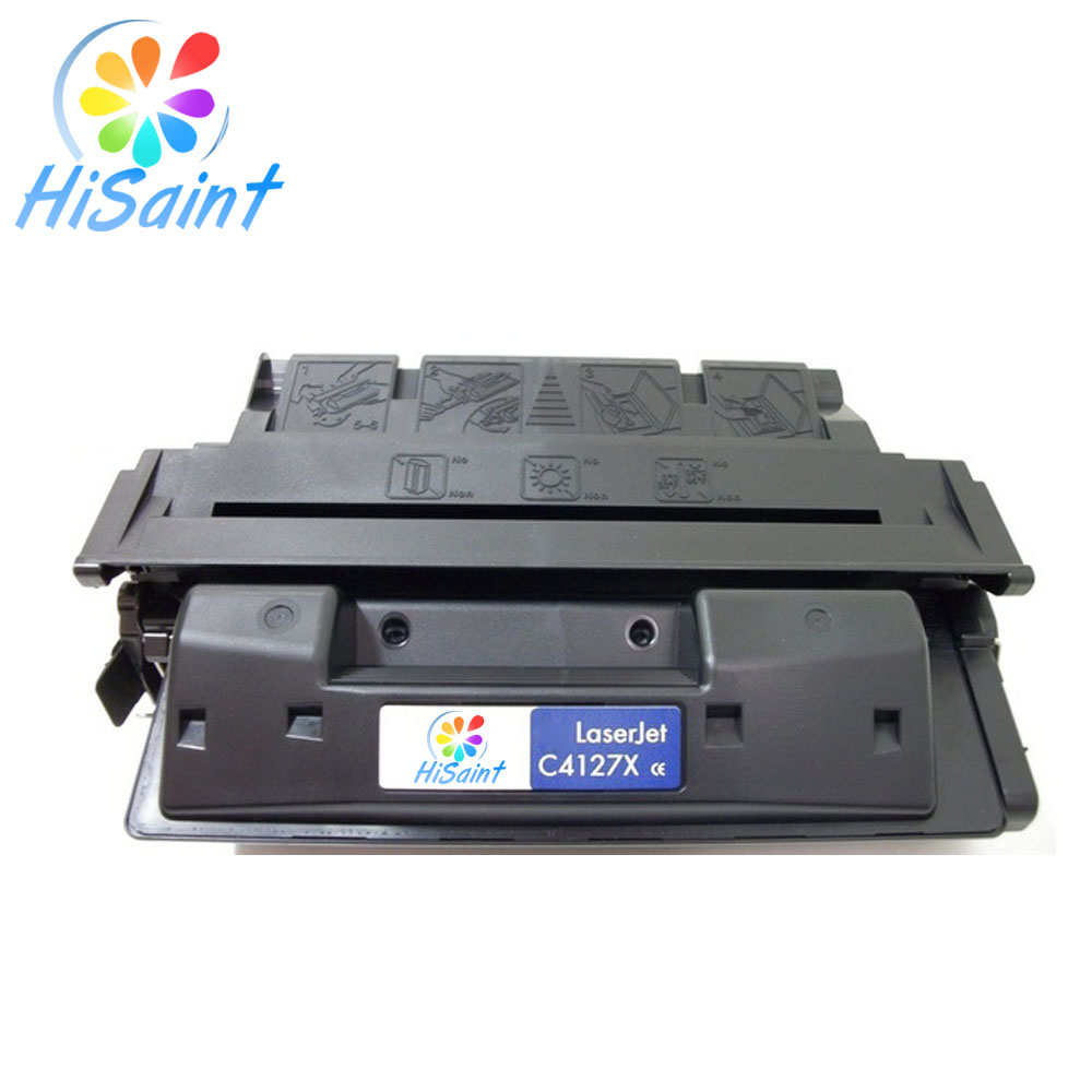 цены Hisaint Listing For HP C4127A C4127X Compatible Remanufactured High Yield BK Toner Cartridge for LaserJet 4000, 4050 Printers