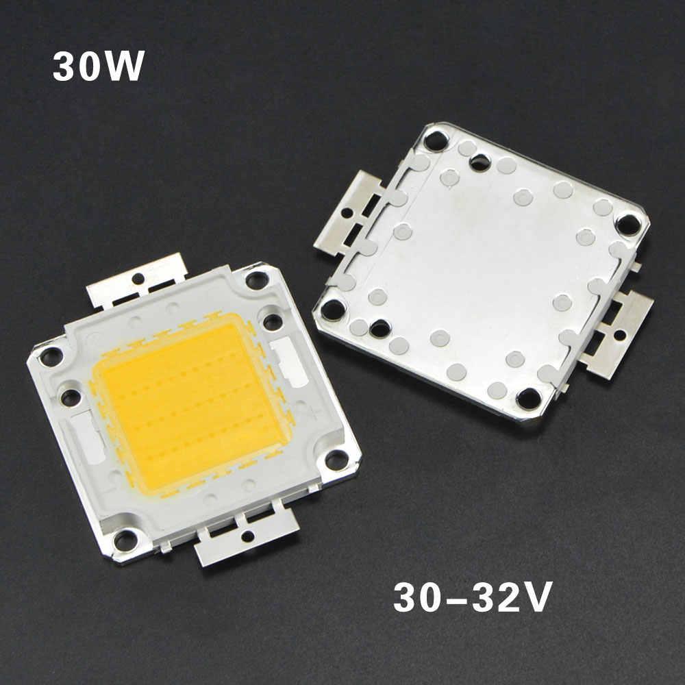 Putih/Hangat Putih 10 W 20 W 30 W 50 W 100 W LED light Chip DC 12 V 36 V COB Terintegrasi LED Chip lampu DIY Lampu Sorot Spotlight Bulb