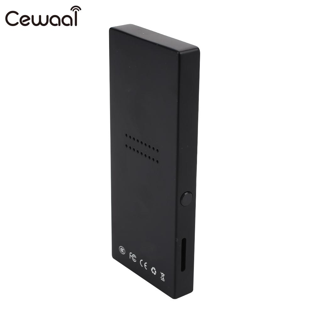 Cewaal FM Radio HIFI lecteur vidéo Bluetooth MP3 enregistrement MP3 MP4 portable Sport Bluetooth MP4 E-Book