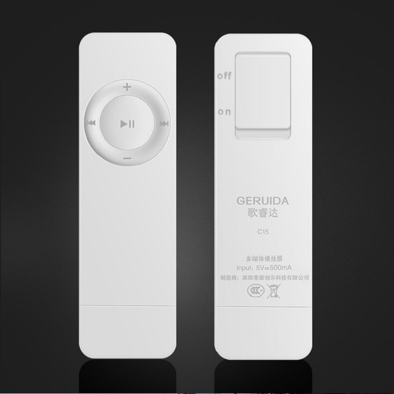 GERUIDA 2G/4G/8G/16G Sports MP3 Player Running Walkman Mini MP3 Music Player Also U Disk Special for Students