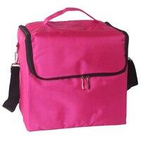 4 ألوان ماكياج التجميل حقيبة بوليستر كيت المحمولة تشكل النساء ماكياج المنظم حقيبة الفتيات حقيبة اليد المسار