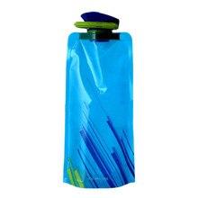 BRIDAY 1 шт. Спортивная дорожная Портативная Складная уличная удобная и простая бутылка для воды 700 мл@ 3