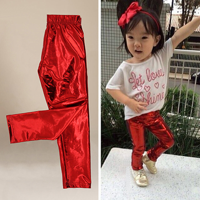 d1acaedc6af Fashion Baby Kids Clothes Girl Meryl Shiny Solid Skinny Leggin Baby Pants  kid legging leggins girls pant child fantasia infantil-in Pants from Mother    Kids ...