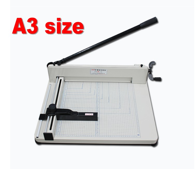 Heavy Duty A3 Size Manual Stack Paper Cutter Guillotine 40mm Thickness цена