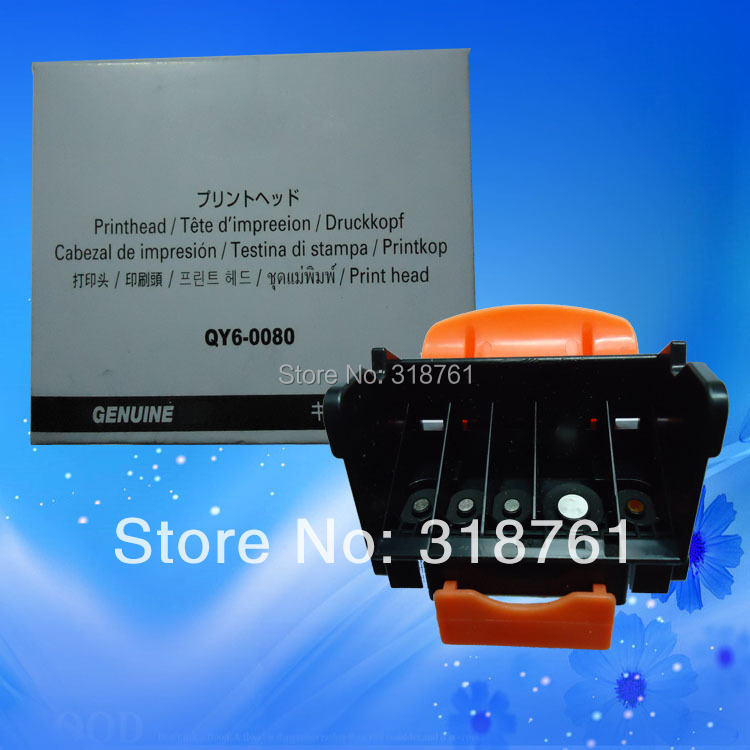 цены Original Print Head QY6-0080 Printhead Compatible For Canon IP4820 IP4840 IP4850 IP4880 IP4980 IX6520 IX6550 MG5240 Printer