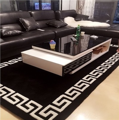 2017 Simple Modern European Carpet Living Room Coffee Table Bedroom Bedside Mattress Model Full Floor Carpet Customization