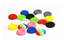 Free shipping Wholesale 11 colors Style Silicone Key Protector Thumb Grips Joystick Caps for Xbox One /Xbox 360 / Sony PS4 / PS3