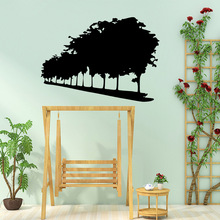 Large trees Wall Sticker Home Decoration For Baby's Rooms Decal Creative Stickers Living Room Bedroom vinilo decorativo недорого