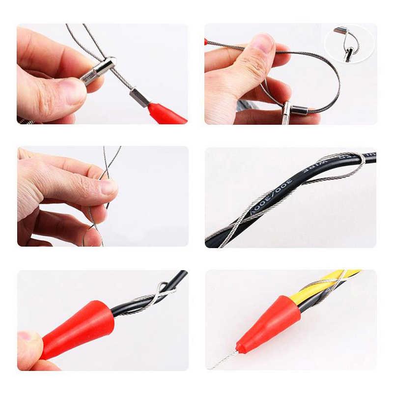Dispositif de filetage de câble électrique 5/10/15/20/25/30/50 M câble de guidage de fil exécutant des outils de Construction de dispositif de plomb d'extracteur