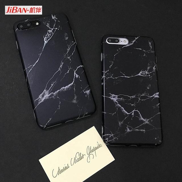 coque marbre noir iphone 6