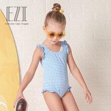 July Sand skincare UPF 40 Child Girl Swimsuit BathingSuit ezi18G002 2018 New Style