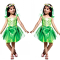 Flower Faerie Elf Costumes Beautiful Faery Dress Sale Rihanna Cosplay Flower Girls Bridesmaids