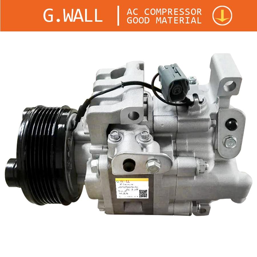 Auto AC Compressor For Mazda 5 CX7 Air Conditioner Pump H12A1AL4A0 H12A1AL4A1 H12A1AL4HX EG21-61-K00 EG21-61-K00A EG2161K00