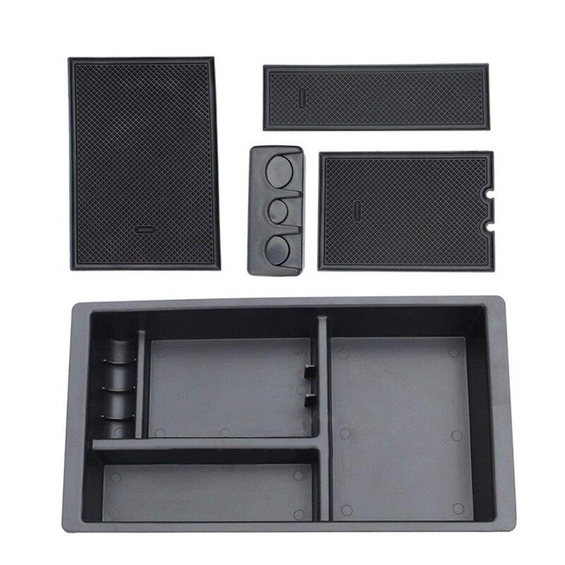 Box bracciolo Centrale Console Organizer Vassoio Per Chevy Silverado GMC Sierra Yukon 2015-2018