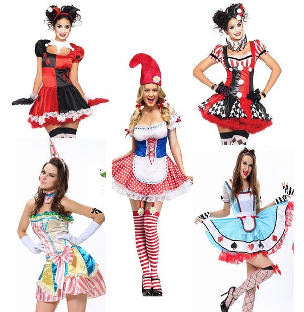Newest 14 Styles Sexy Fantasias Femininas Halloween Women Classic