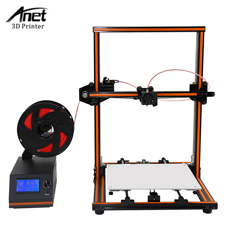High Precision Anet E12 3d Printer DIY Kit Large Print Size 300*300*400MM Detect Resume Power Off Optional 3D Printer DIY Kit case for oneplus 3t tpu transparent soft shell tree branches pattern