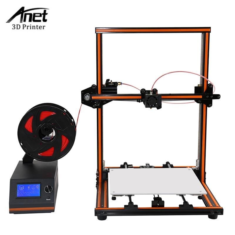 High Precision Anet E12 3d Printer DIY Kit Large Print Size 300*300*400MM Detect Resume Power Off Optional 3D Printer DIY Kit phantom cam 0904