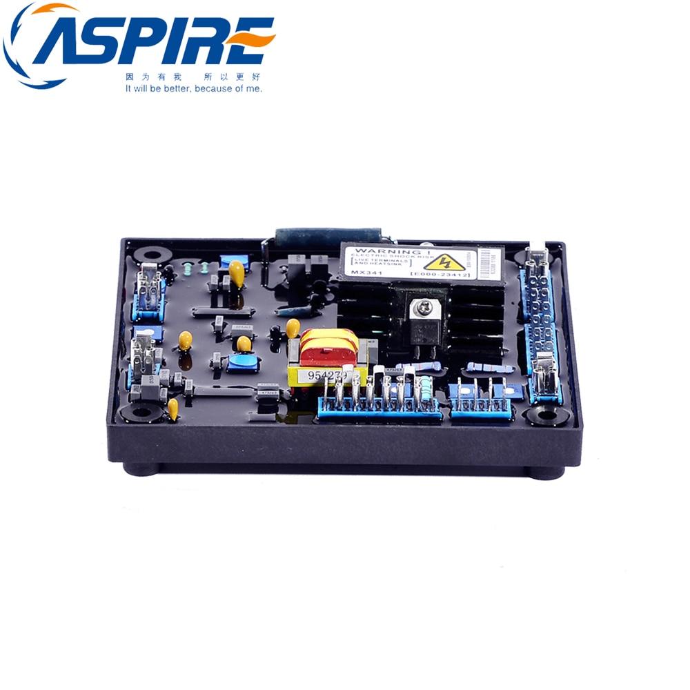 free shipping Automatic Voltage Regulator MX341 AVR for Generator 50 60hz automatic voltage regulator for kutai brushless generator avr ea16 free shipping
