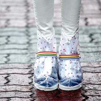 Freesmily Мужская и женская мода круглый носок низкая трубка водостойкая противоскользящая обувь рукав Толстая износостойкая подошва