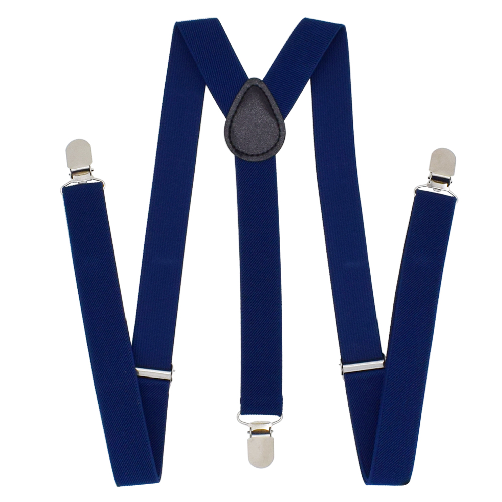 Unisex Elastic Y-Shape Braces Mens Womens Adjustable Clip-on Suspenders Belts