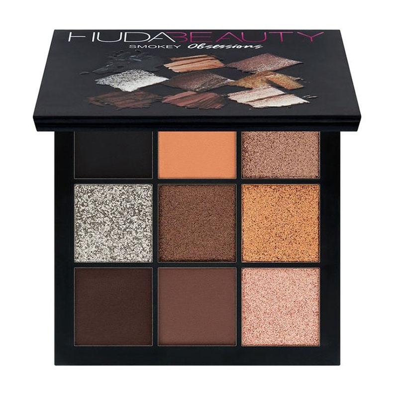 Hudas Beauty Palette 9 Colors Eyeshadow Pallete Eye Shadow Powder Eyeshadow Pallete Makeup Glitter Pressed Glitter Eye Shadow