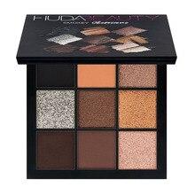 Hudas Beauty Palette 9 Colors Eyeshadow Pallete Eye Shadow Powder Makeup Glitter Pressed