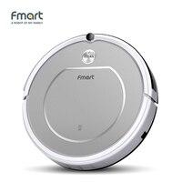 Fmart Smart Robotic Vacuum Cleaner Home Appliances 128ML Water Tank Wet 300ML Dustbin Sweeper Aspirator 3