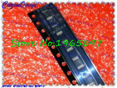 1pcs/lot AP2802IME-ADJ AP2802 2802 MSOP-10 In Stock
