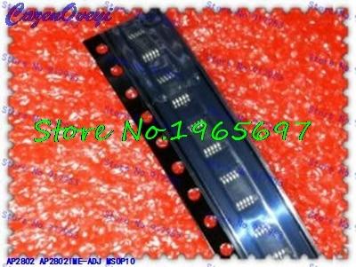 1pcs/lot AP2802IME-ADJ AP2802 2802 MSOP-10 In Stock