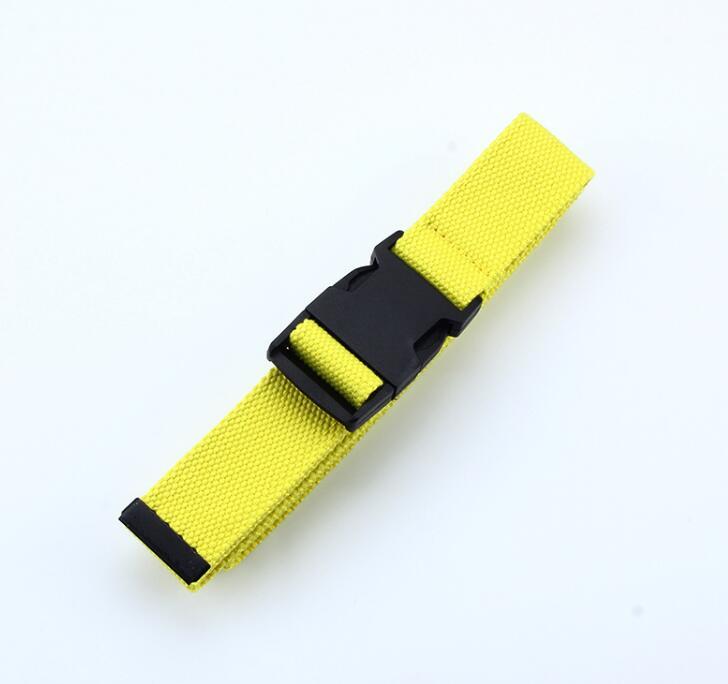 Женский ремень Харадзюку, красный, с буквенным принтом, модный, унисекс, двойное d-образное кольцо, Холщовый ремень, женские длинные ремни для джинсов - Цвет: Style 2 FluoresYello