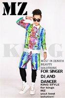 Можно костюмировать! Для мужчин Новый певица мужской гостей костюм Go Go Chi Long GD подходящего цвета Шорты костюмы больших размеров одежда