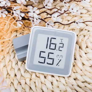 Image 4 - Xiaomi MiaoMiaoCe E Link Schermo INCHIOSTRO Digitale di Umidità del Tester Schermo LCD Ad alta Precisione di Temperatura del Termometro del Sensore di Umidità